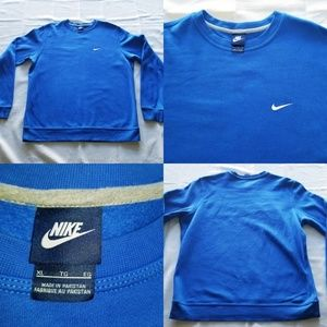 Vintage Nike Air Blue Tag Swoosh Unisex Sweater XL